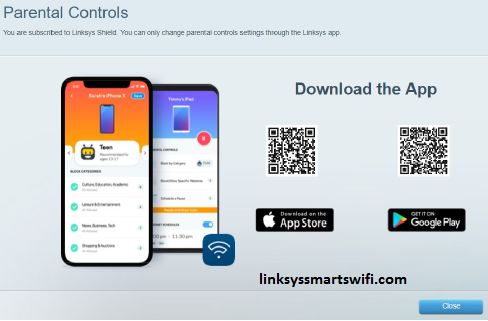 download the Linksys app